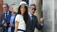 George clooney and Amalalamuddin (2)