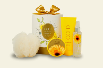 Gold Gift Set from Fruits & Passion