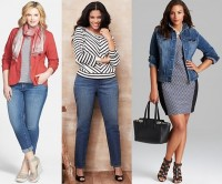 Plus-Size-Spring-Summer-2014-Fashion-Denim-Trend